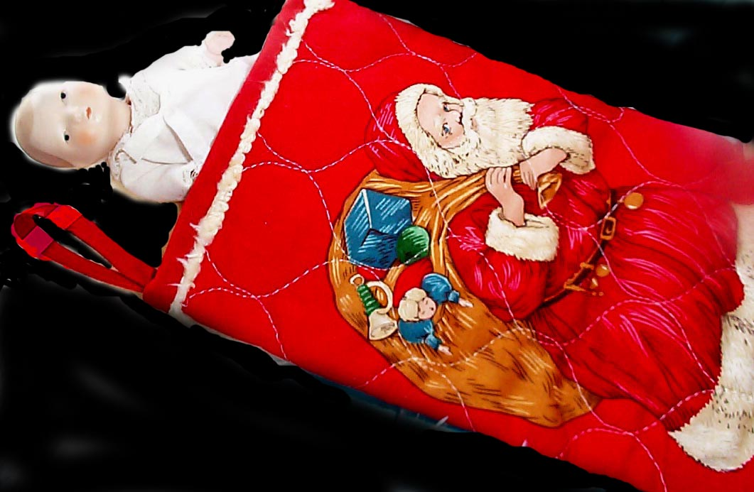 Christmas past stocking